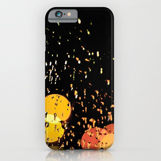 Windshield wipers, slappin' out of tempo, keepin' perfect rhythm with the song on the radio-oo-oo iPhone & iPod Case