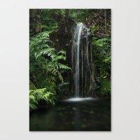 Mini  Waterfall Canvas Print