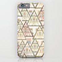 Pattern Houses iPhone 6 Slim Case