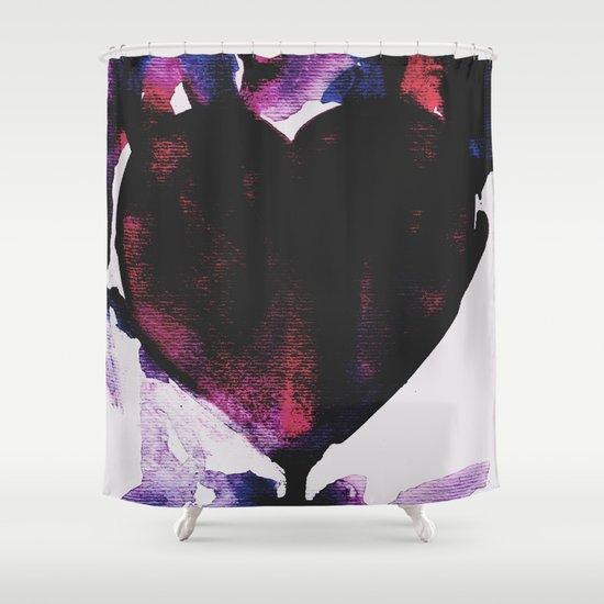 heart Shower Curtain