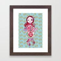 Cuckoo For You. Framed Art Print