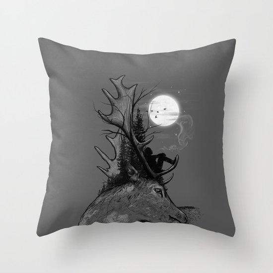 A Long December Throw Pillow