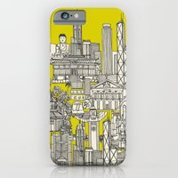 Hong Kong toile de jouy chartreuse iPhone 6 Slim Case