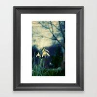 Key Of Spring Framed Art Print