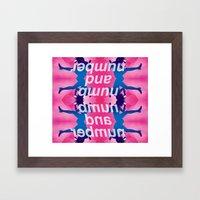 numb² Framed Art Print