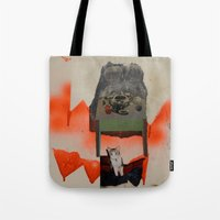 Supper with Cat Tote Bag