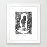 Blinding Framed Art Print
