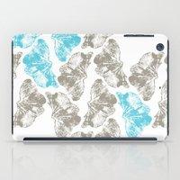 Ginkgo Fossils - Light iPad Case