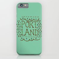 iPhone & iPod Case featuring Portland Rain by Alissa Thiele