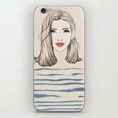 Sea girl iPhone & iPod Skin