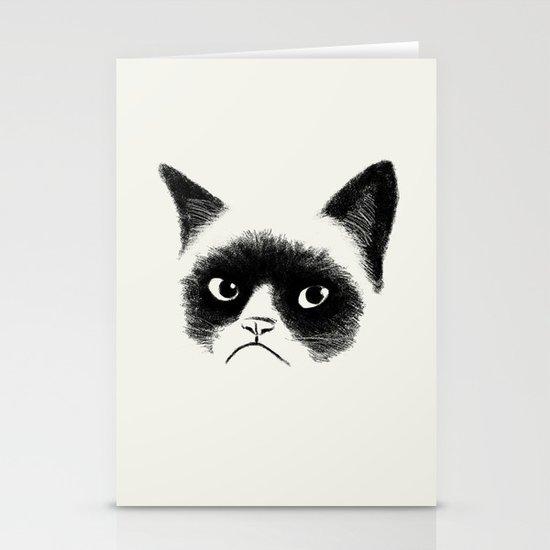 Grumpy Cat Stationery Card