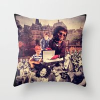 Ultimate Bereavement Party Throw Pillow