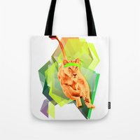 Lioness fitness Tote Bag