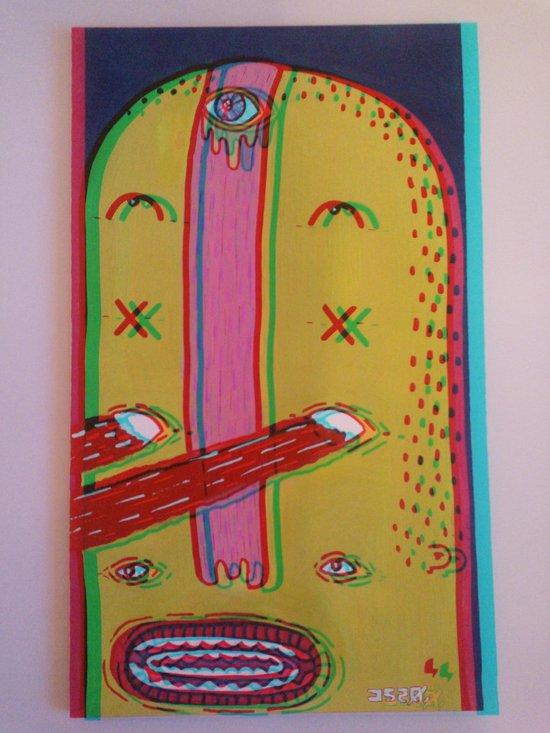 j520. Art Print