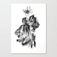 Symbiosis II Canvas Print