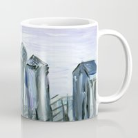Gray Philadelphia Skylin… Mug