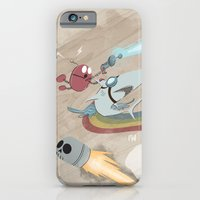 iPhone & iPod Case featuring Return to the Super Fire Awesome Rainbow Dream Adventure by David Finley