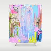 Agoraphobic  Shower Curtain