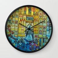 CAT-HEDRAL Wall Clock