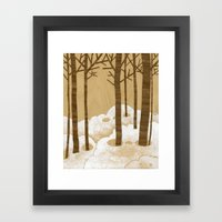 Forest is Alive! Framed Art Print