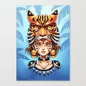 Tiger Tribe Canvas Print