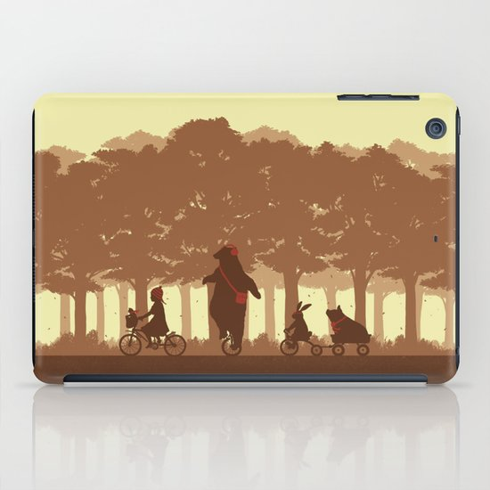 Biking with Friends iPad Case