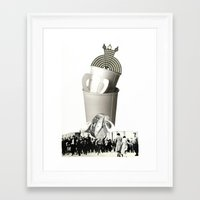 It's About That Time Again Framed Art Print