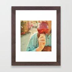 Liebesapfel Framed Art Print