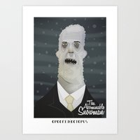 The Abominable Snowman Art Print