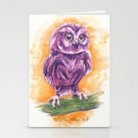 Cute Lil' Ol' Owl Stationery Cards