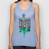 Pineapple architecture  Unisex Tank Top