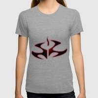 Hitman Womens Fitted Tee Tri-Grey SMALL