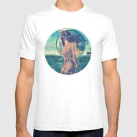 Drowned World Mens Fitted Tee White SMALL