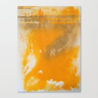 Gold Untitled 3 Canvas Print
