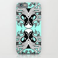 iPhone & iPod Case featuring Octopus Mirrored by tCAP
