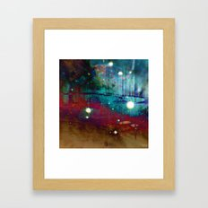 Space Nebula Framed Art Print