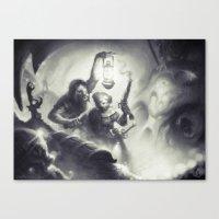 The Intruders Canvas Print
