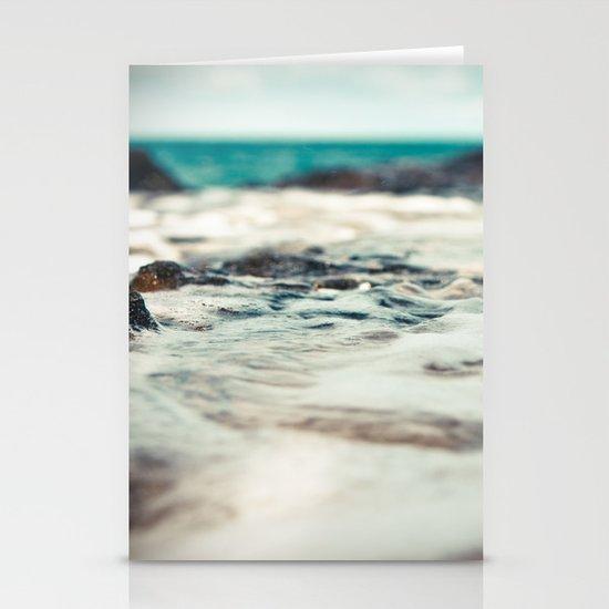 Kauai Sea Foam Stationery Card