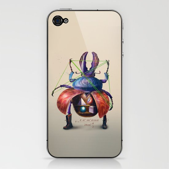 Beetle stunt iPhone & iPod Skin