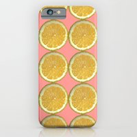 Lemons Citrus Fruit Color Photo Art iPhone 6 Slim Case