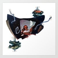 Junket | Collage Art Print