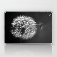 Dandelion In BW Laptop & iPad Skin