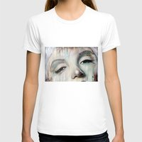 Marilyn Womens Fitted Tee White SMALL