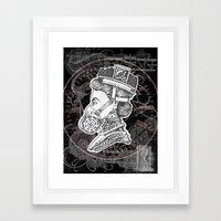 Umbrella Queen Framed Art Print