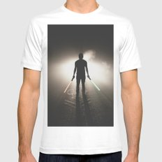 Fate of the Jedi White SMALL Mens Fitted Tee
