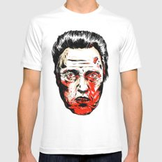 Walken Dead Mens Fitted Tee White SMALL