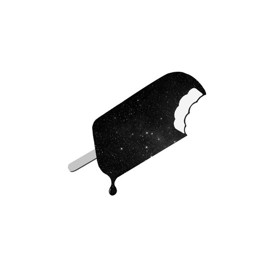 Space Melter (Redux) Art Print