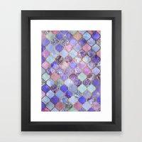 Royal Purple, Mauve & In… Framed Art Print