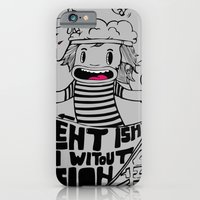 iPhone & iPod Case featuring Brainiac by SupremeFactory