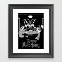 Happy Birthday! Framed Art Print